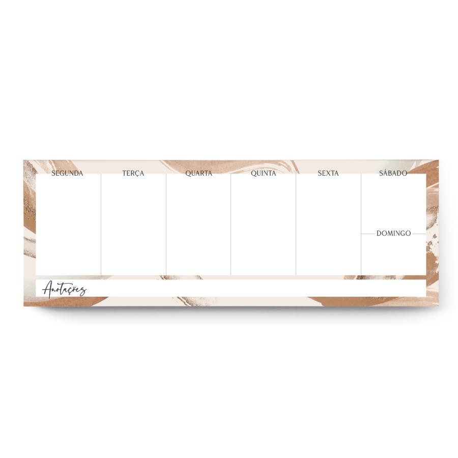 Mini Desk Planner | Planner Jornada do Eu® 2022