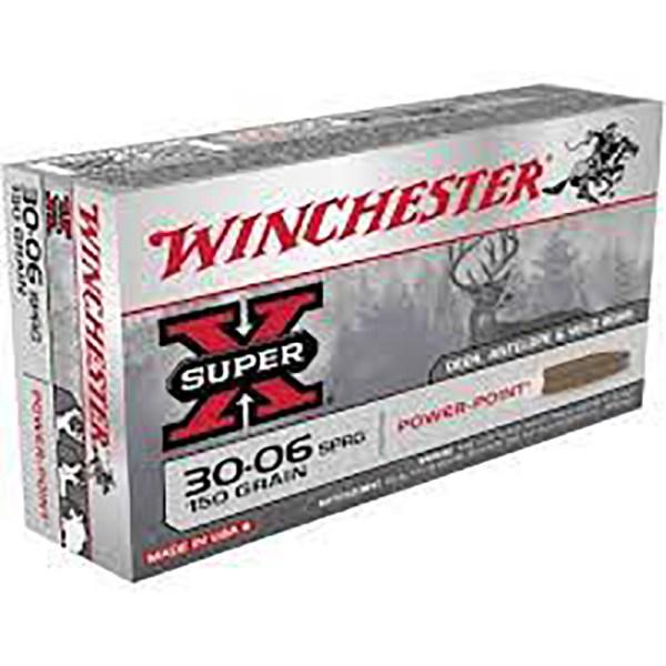 Mun. Winchester 30-06 Spr.150gr Power Point_lojaamster
