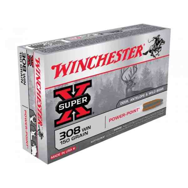 Mun. Winchester 308 Power Point 180 Gr_lojaamster