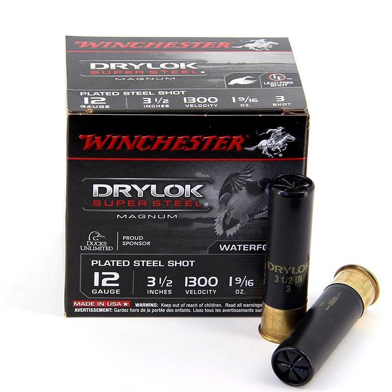 Cart. Winchester Drylok steel Cal 12