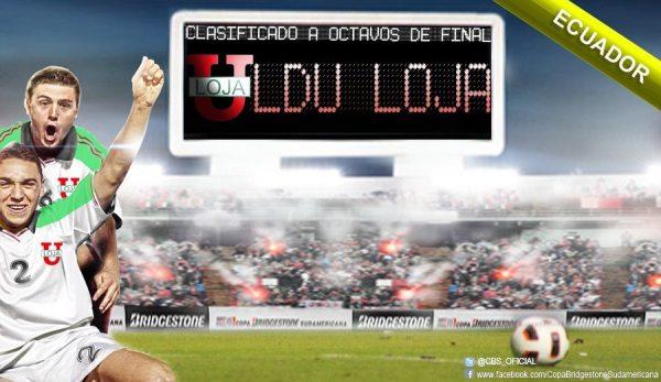Clasificación de Liga de Loja en Copa Bridgestone Sudamericana a Octavos de Final
