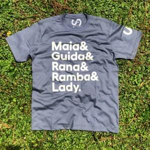 Camiseta Nomes Chumbo