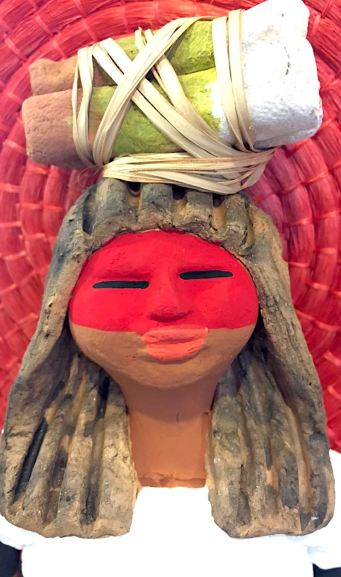 Bugra em cerâmica - Mato Grosso do Sul