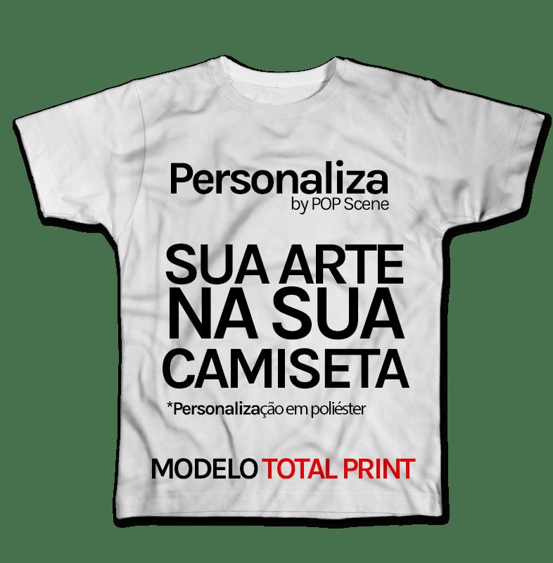 Camiseta Personalização POP Scene