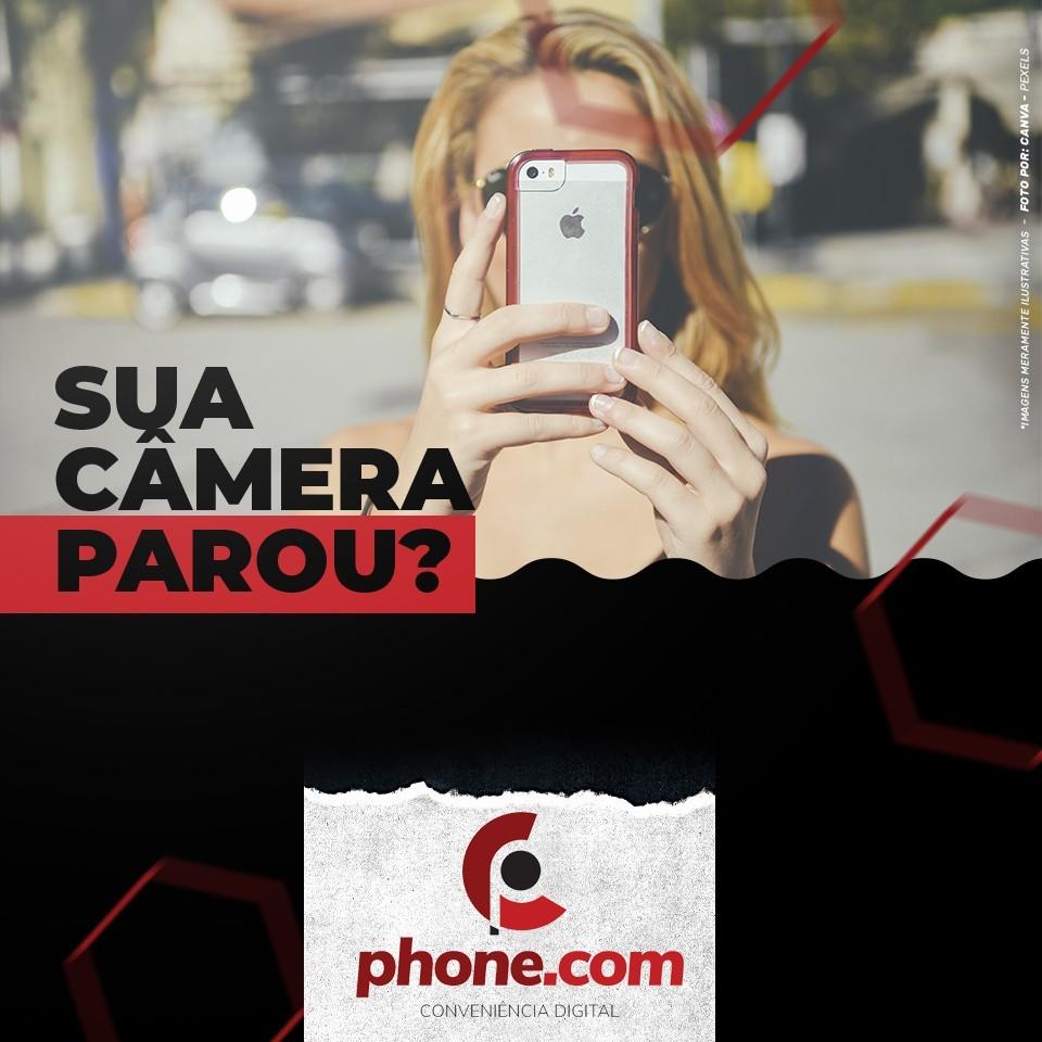 A câmera do celular não funciona?