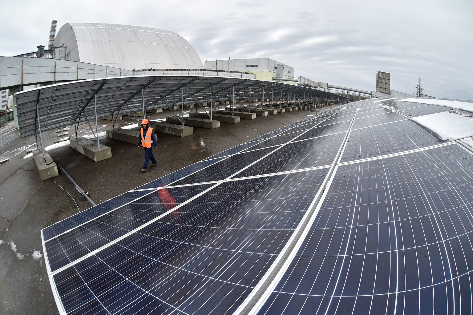Chernobyl logo estará gerando energia solar