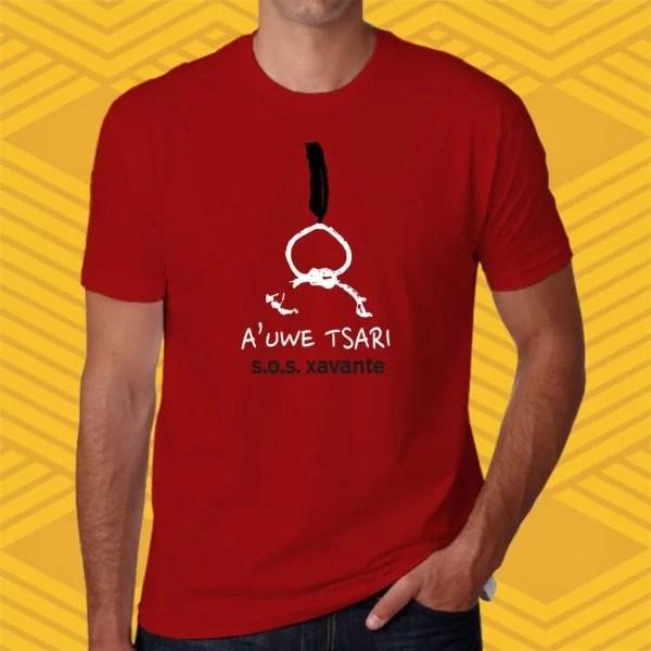 Camiseta A'uwe Tsari Unissex
