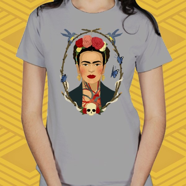 Camiseta Frida Kahlo Baby Look