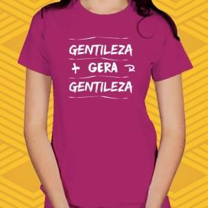 Camiseta Gentileza Baby Look