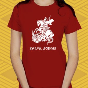 Camiseta Salve, Jorge! Baby Look