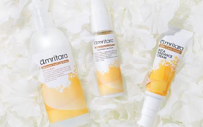 原料をこだわりまくった国産オーガニックコスメ、アムリターラにアンチエイジング新商品が3品登場!