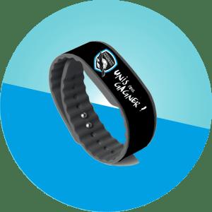 Bracelets NFC don association - personnalisés à vos couleurs