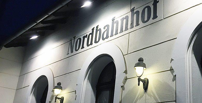 Nordbahnhof - Gastronomie im alten Wartesaal