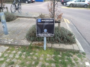 Handicapbåsen på Vedbæk Havn.
