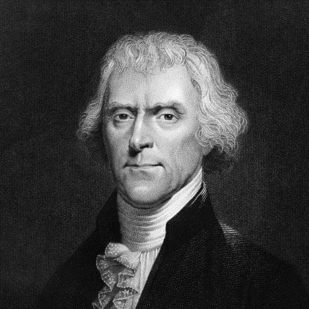 Thomas Jefferson cytat reklama