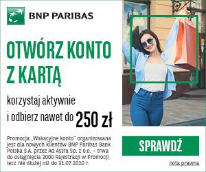 BNP Paribas Wakacyjne konto