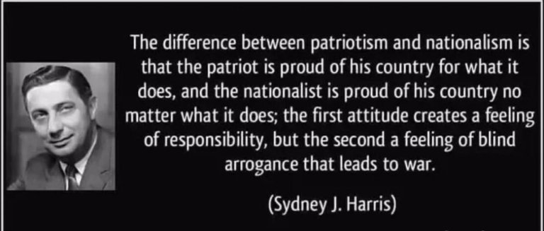 Difference Between a Nationalist and a Patriot