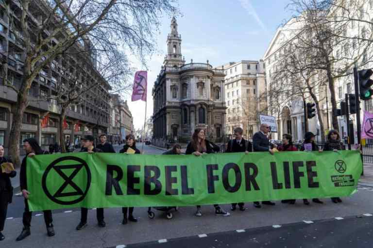 Climate Catastrophe and Extinction Rebellion