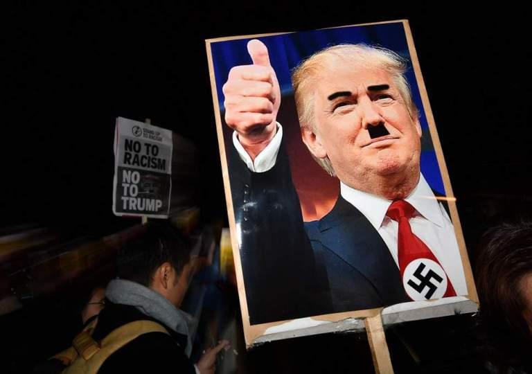 Trump: Emulating Hitler