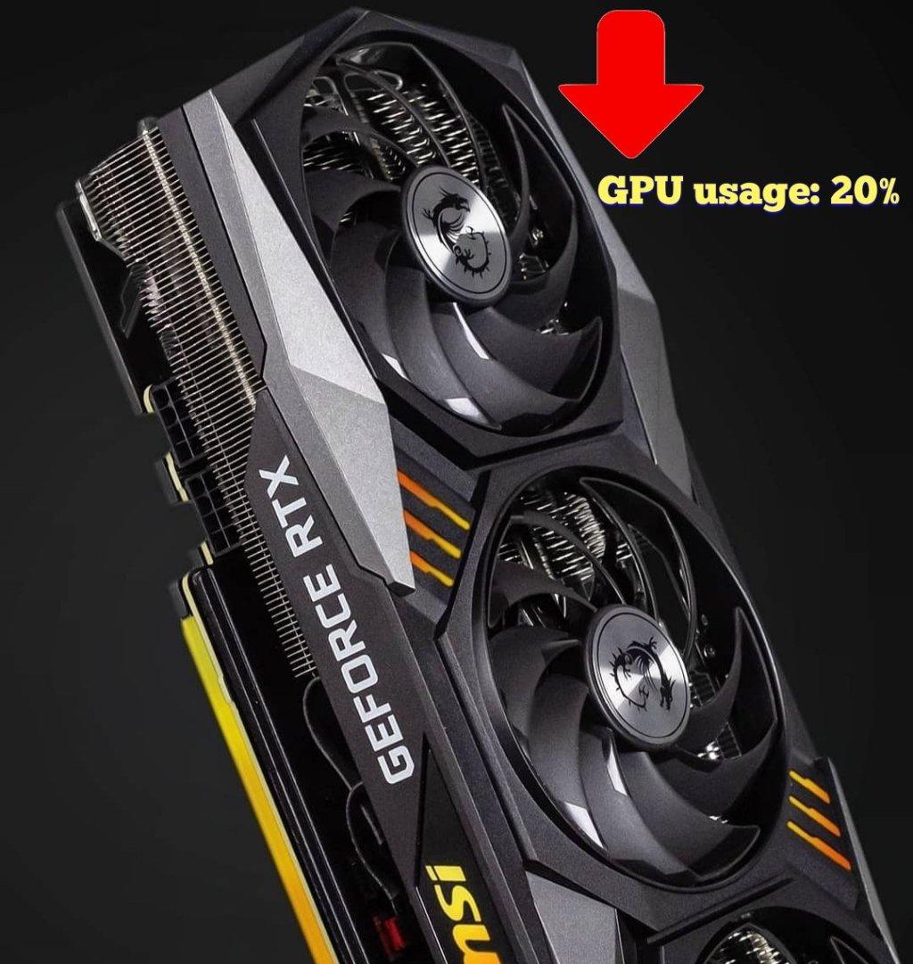 low GPU usage