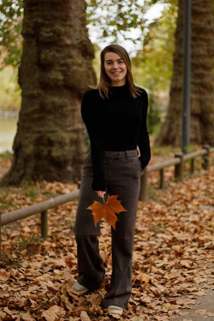 tenue automne chinée
