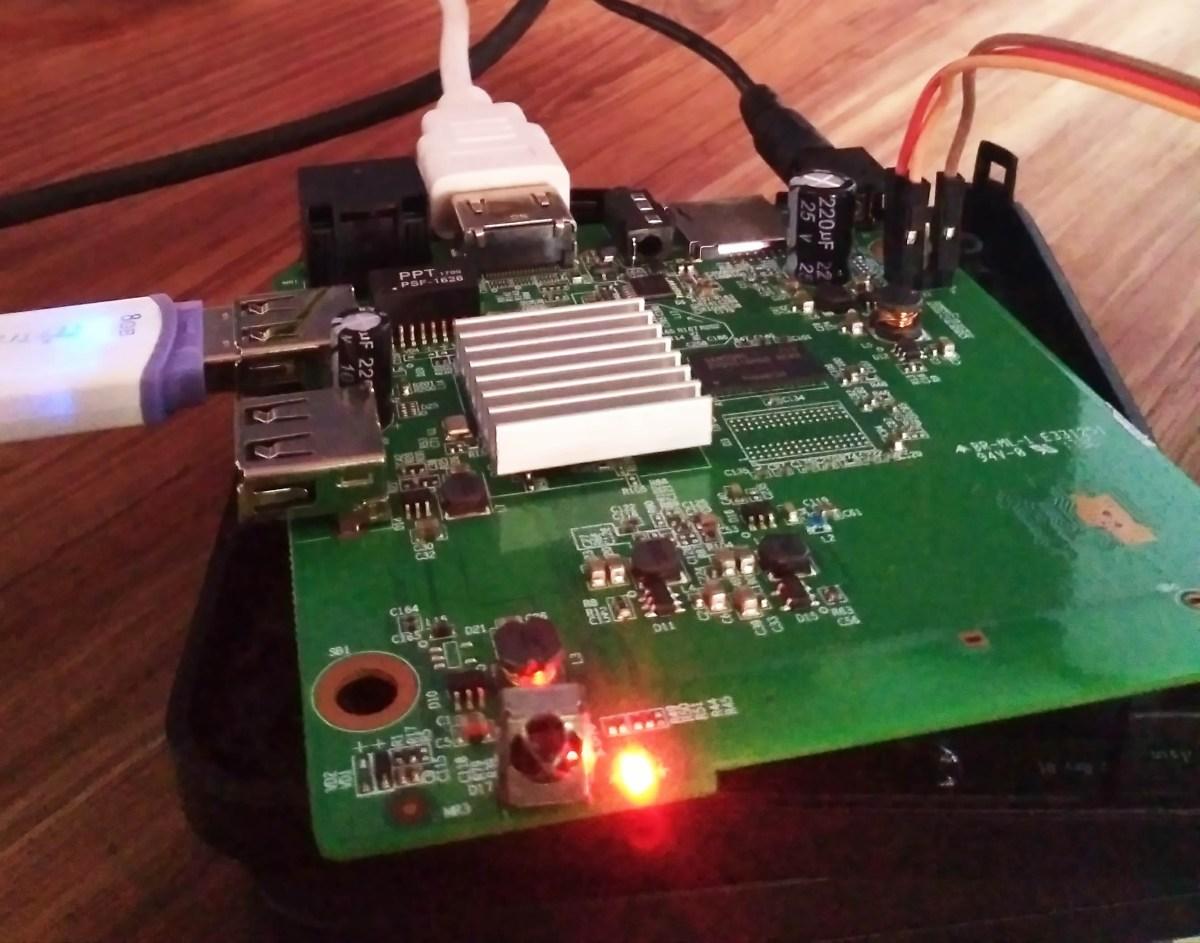 Memunculkan Cursor Mouse/Pointer Pada STB ZTE B860H