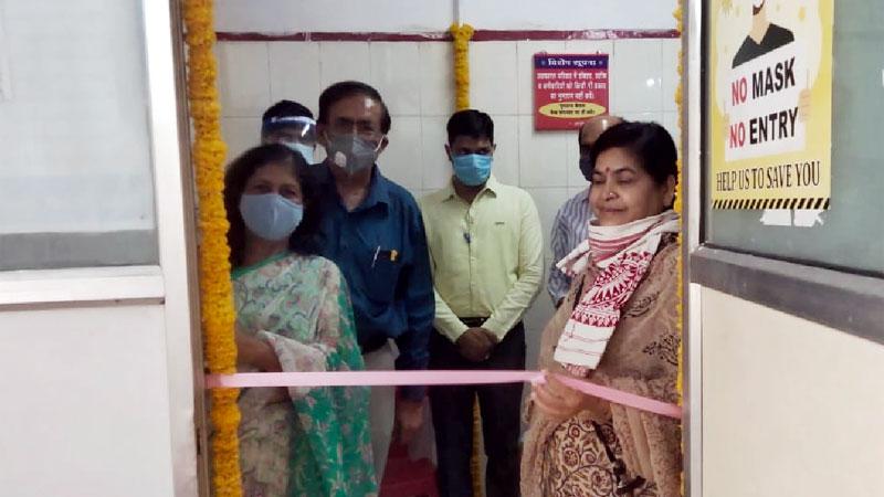 मंत्री सुश्री ठाकुर ने किया डायलिसिस सेंटर का शुभारंभ