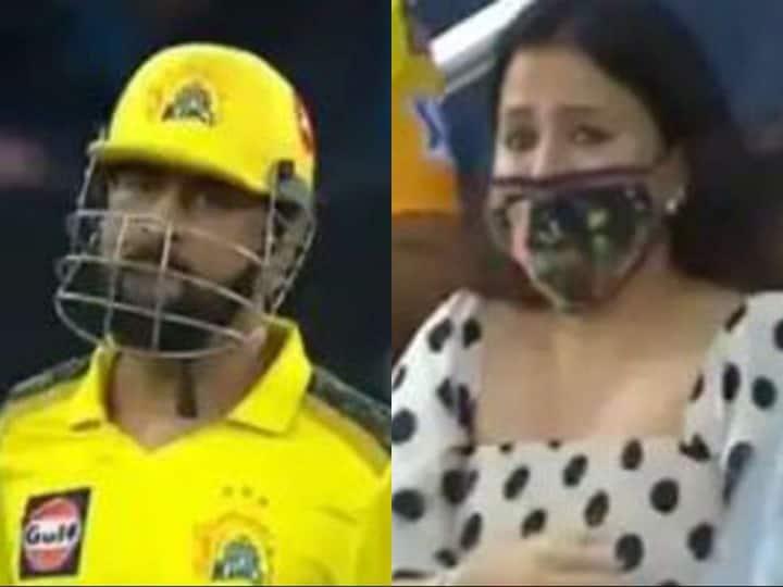 वीडियो: एम एस धोनी के विनिंग भाग्यशाली खुश से झूमी साक्षी, आंस के साथ बैठने के लिए