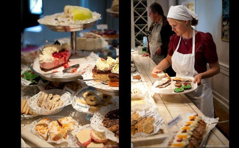 Fika at Taxinge Slott - Sweden - Food Photography by Lola Akinmade Åkerström