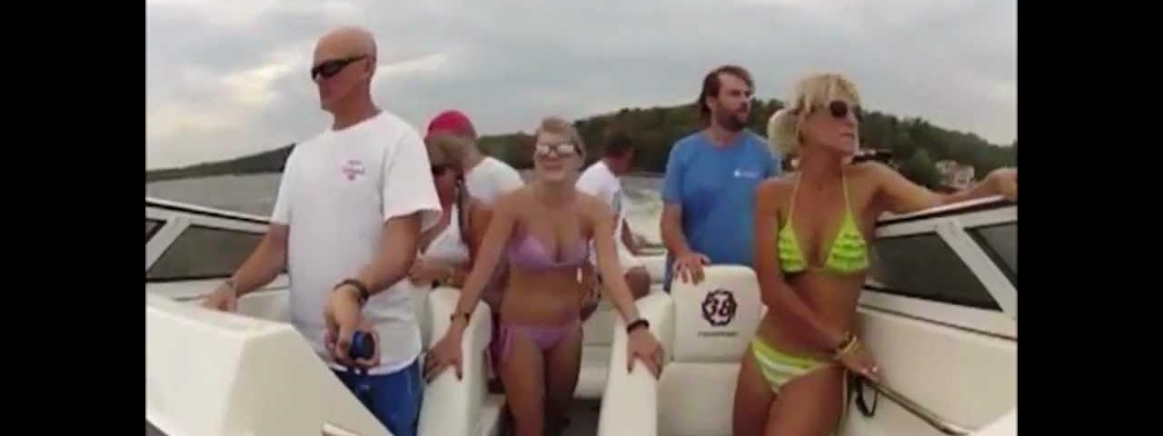Acidente de barco impressionante