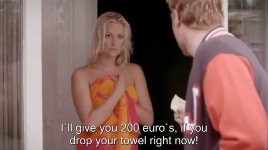 200 Euros para deixar cair a toalha
