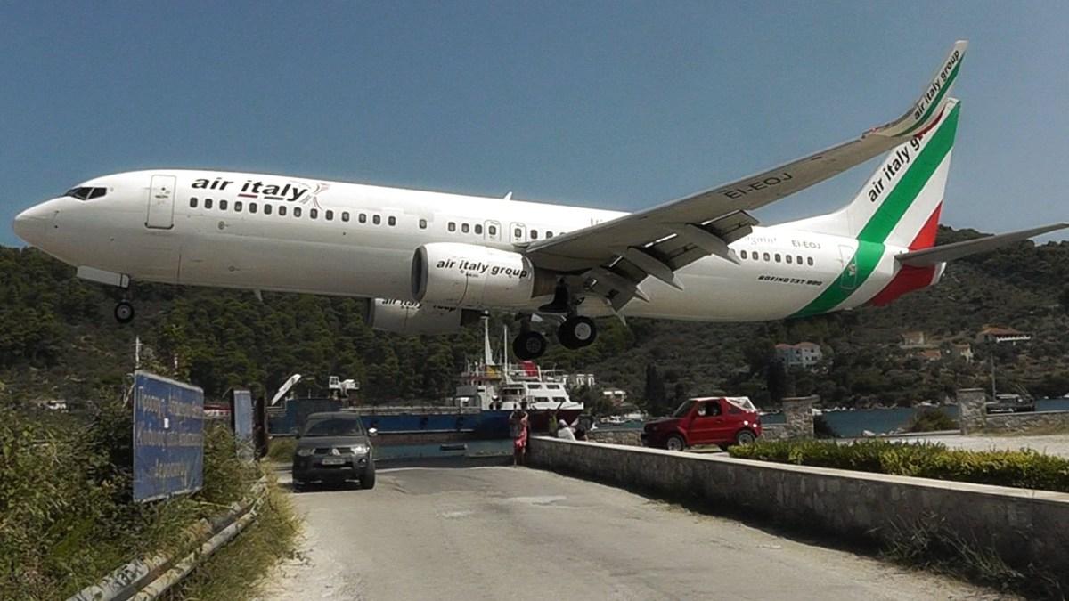 Aeroporto na Grécia que deixa todos de boca aberta