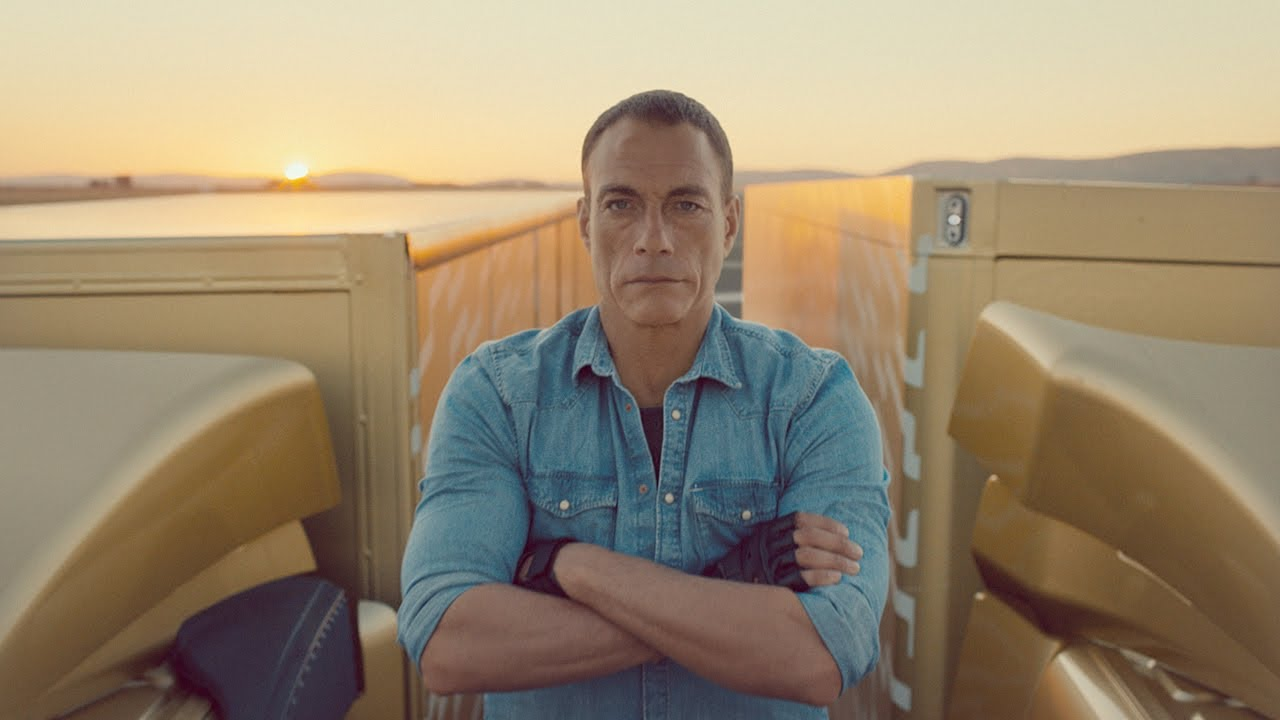 Anúncio da Volvo com Van Damme