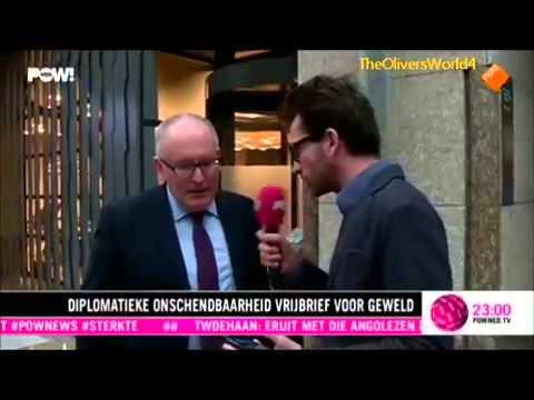 Jornalistas holandeses agredidos à porta da embaixada de Angola em Haia
