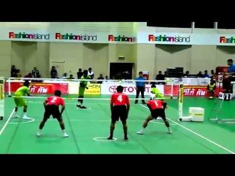 Kung Fu, Futebol e Vólei dá origem a novo desporto