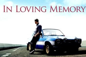 Homenagem da produção de Fast Furious a Paul Walker