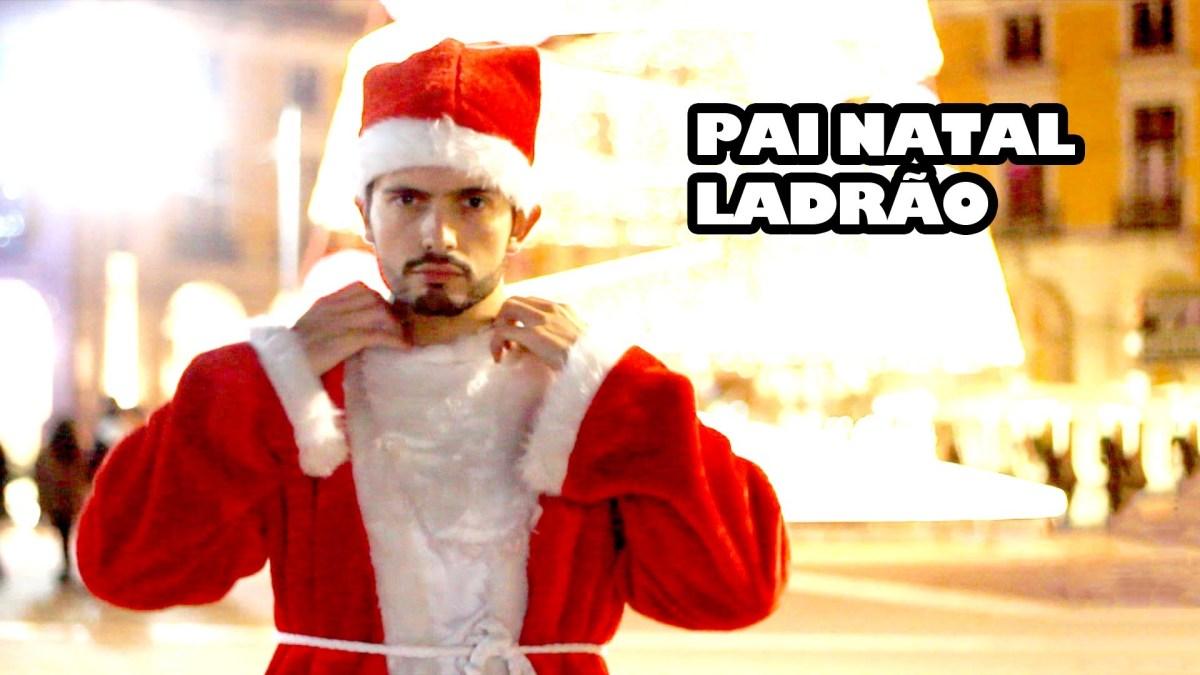 O Pai Natal Ladrão chegou