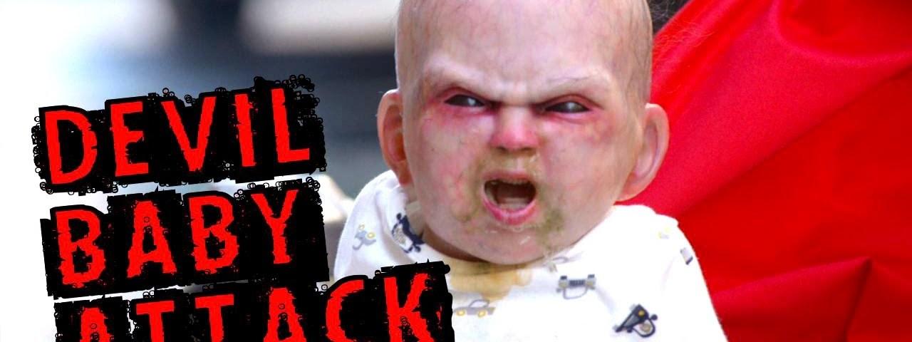 Bebé espalha o terror, genial