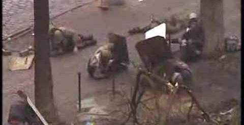 Forças especiais disparam sobre os manifestantes na Ucrânia