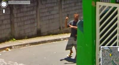 Imagens apanhadas pelo google street view