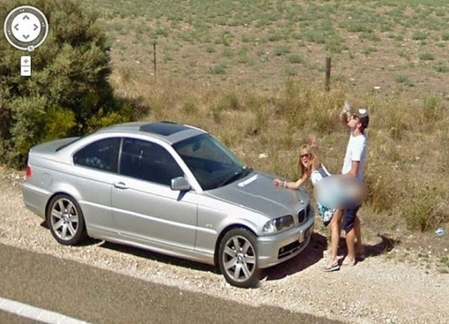 Flagras do Google Street View