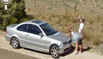 Flagras do Google Street View