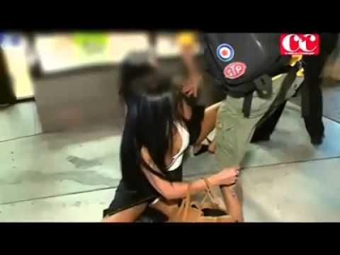 Estrela de reality show francês à porrada em Miami