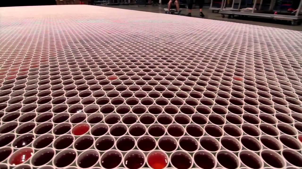 66 mil copos de água e um resultado incrível