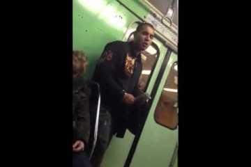 Homem é filmado a roubar iphone no metro