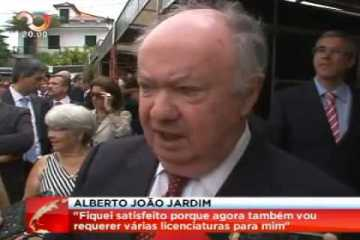 """Alberto João Jardim vai requerer """"Quatro Cursos"""", Brutal!"""