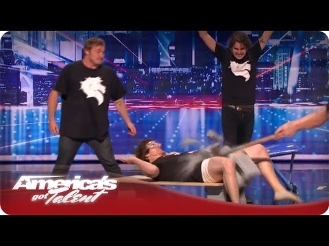 Dói só de ver, America got talent