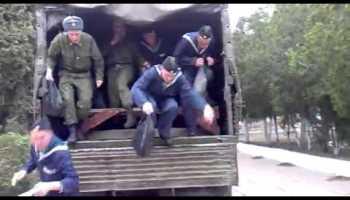 Mother Russia... Um exército num camião