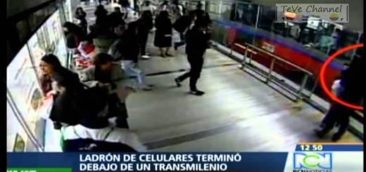 Queria roubar o telemóvel e quase morreu debaixo do metro