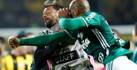 Pancadaria na Libertadores